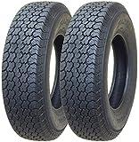 2 New Trailer Tires ST 205/75D14 - 11056
