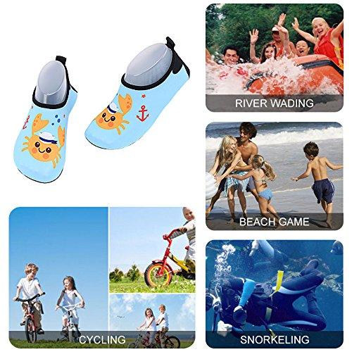nus Plage Plongée De Yoga Séchage Garçons Aquatique Surf Rapide Piscine Chaussettes L'eau Chaussures Pieds Filles Pour Toddler Sport Aqua Exercice Natation Enfants Bmeigo Blue d Hq1twzxaW