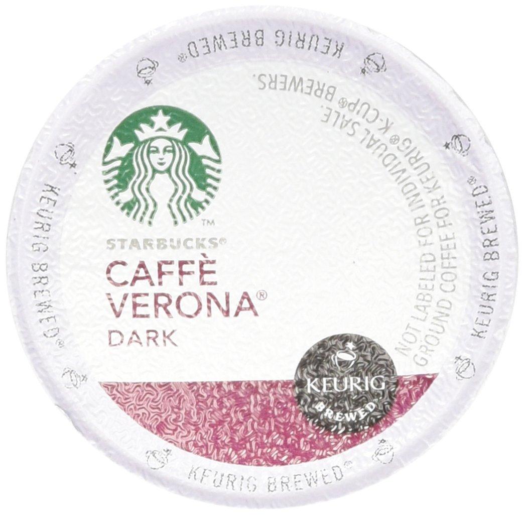 Starbucks Caffè Verona, Dark Roast, 108-Count K-Cups for Keurig Brewers by Starbucks