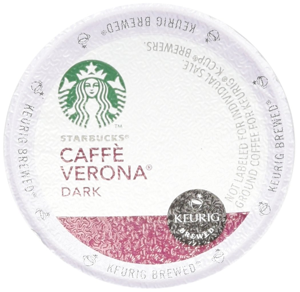 Starbucks Caffè Verona, Dark Roast, 108-Count K-Cups for Keurig Brewers by Starbucks (Image #1)