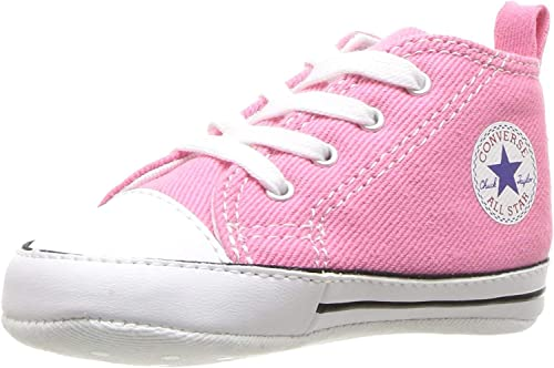 el plastico mármol propiedad  Converse Chucks First Star Hi Pink Size: 13.5 UK Infant: Amazon.co.uk:  Shoes & Bags