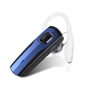 aa5541d5d63 Auriculares Inalámbricos Auricular Bluetooth Manos Libres Bluetooth  Auriculares Mono Headset con micrófono para negocios/trukers/conductor par  con Android ...
