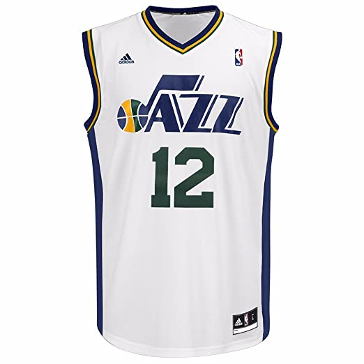 Amazon.com   John Stockton Utah Jazz NBA Adidas Men s White Replica Jersey    Sports   Outdoors b175ceaee
