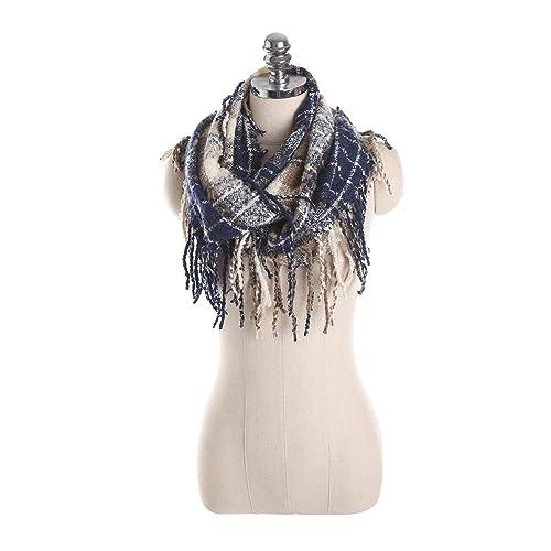 (9 colori)iShine scialle elegante donna sciarpa donna elegante Scarf Colore Accessori cappotto