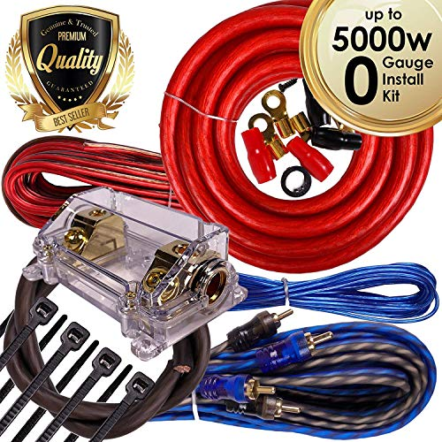 0 gauge car wire kit - 4