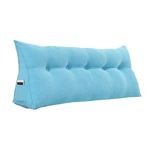MEI XU Pillow Cojín de Cama - Sofá de triángulo Relleno ...