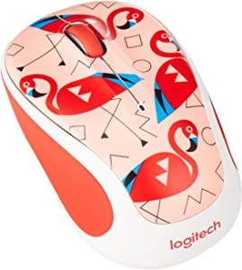 Logitech M325 Wireless Mouse (Flamingo)