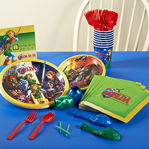 The Legend of Zelda Basic Party Pack for 8 by Birthday Express