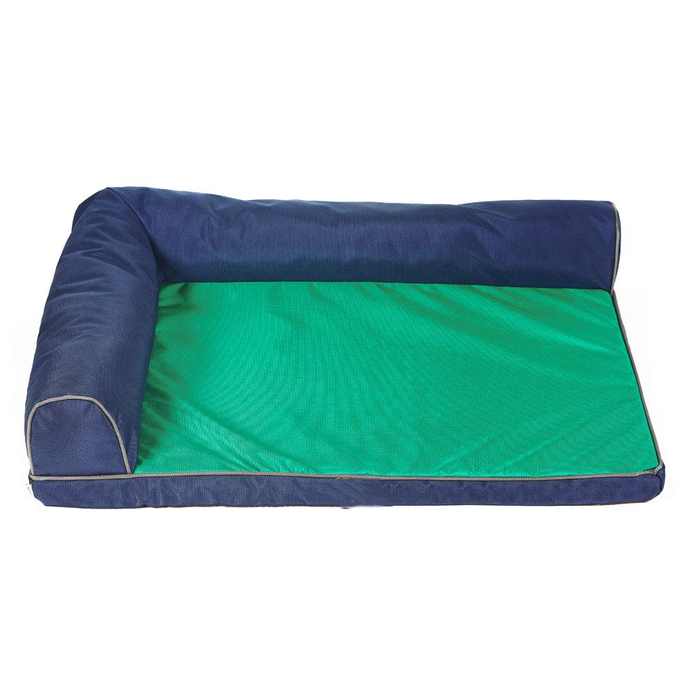 GreenS MiaoMiao Kennel Dog Bed Pet Bite Waterproof Mat Large Dog Sofa Pet Cave House Four Seasons Universal Washable,Greens