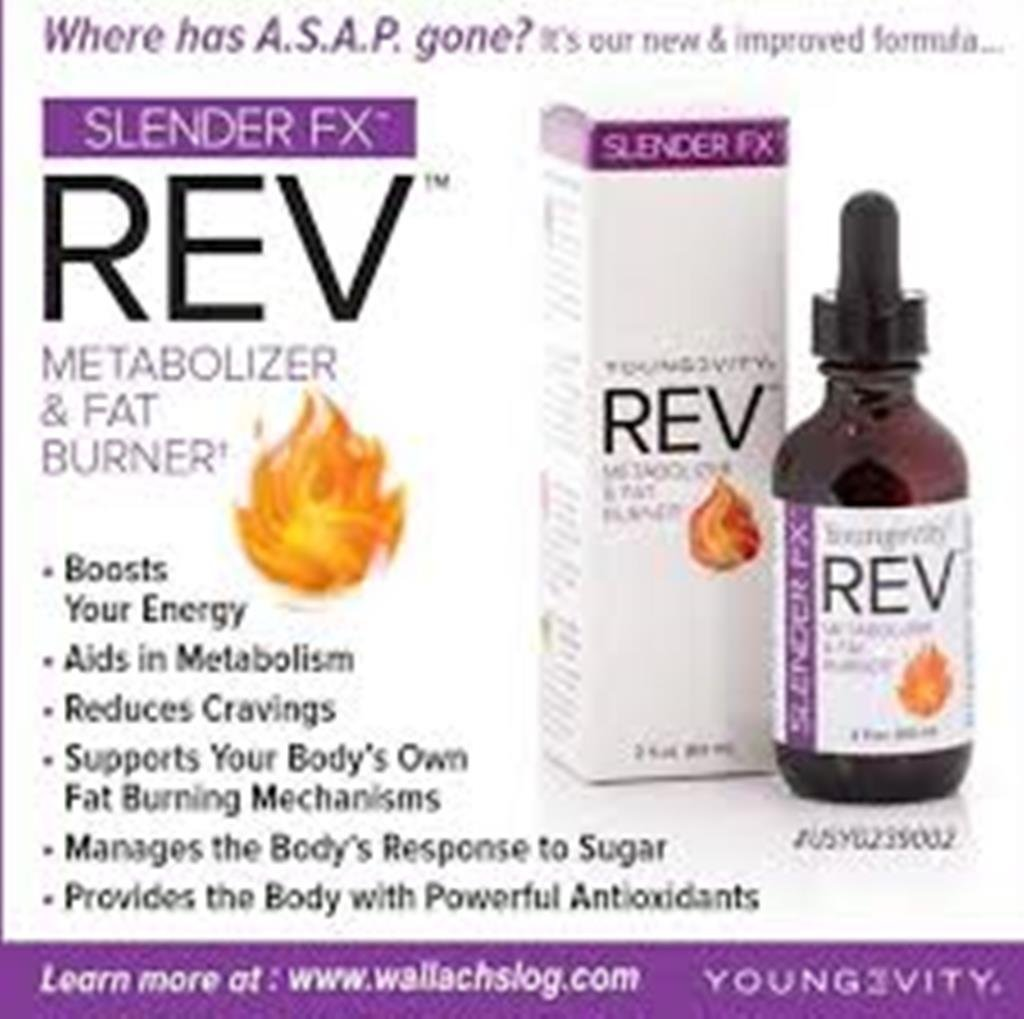 Slender Fx REV fat burning weight loss solution - 2 fl.oz