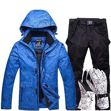 Traje de esquiar Nueva Espesar caliente de esquí juego de los ...