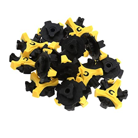 Emma 15 x Golf Shoe Spikes Cleats Studs Pins Q-LOK Style Replacement For  Footjoy  Amazon.co.uk  Kitchen   Home f74b2f60bbd