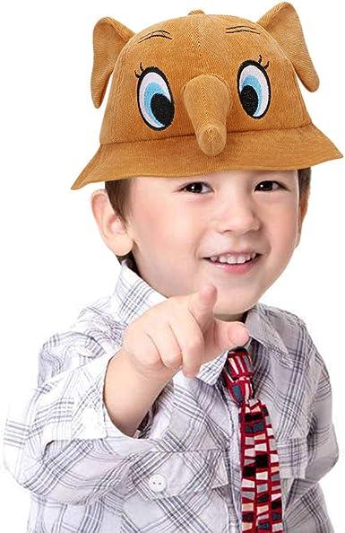 IBLUELOVER Gorro de Disfraz de Elefante para niños y niñas ...