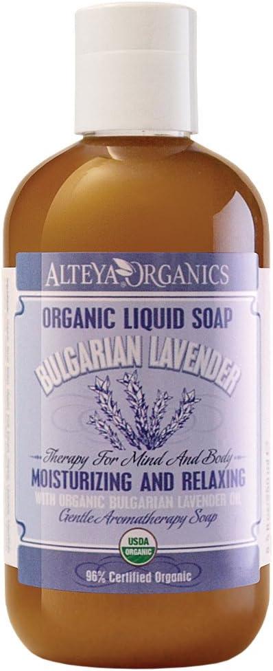 Alteya Organic Jabón Líquido de Lavanda 250 ml - 100% Puro ...