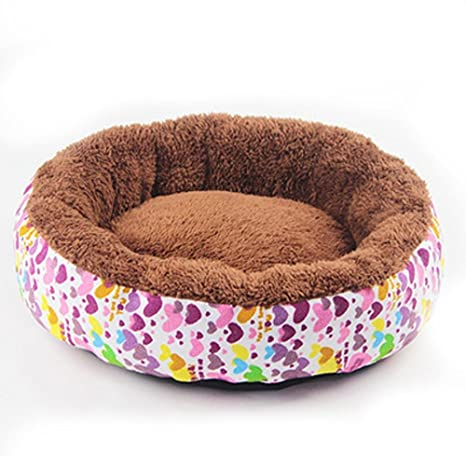 Lozse cojín Caseta para Perros Tela Transpirable canile Gato Cálido múltiple Redondo para el Perro y