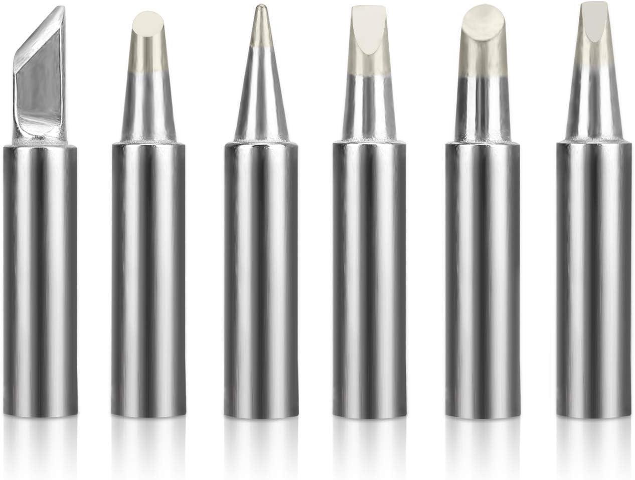 BEST Replacement HAKKO T18 Soldering Tip For HAKKO FX-888D FX-888 FX-8801 5 pcs