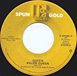 This item is a 7 Inch 45 rpm featuring Queen titled: Queen - Killer Queen / Liar - Elektra Spun Gold Records - E-45080(Stereo - 1974) This Queen 45 is presented in the Original Elektra/Asylum Stock Paper Sleeve. Here is a Very Nice Queen 45 a...