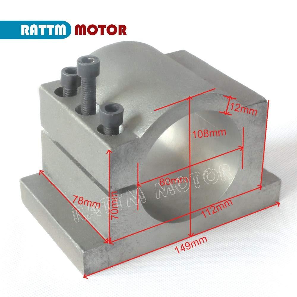Ochoos EU Ship! 80mm/ 100mm Diameter Cast Aluminium bracket for CNC Engraving milling machine cast aluminium/fixture/holder - (Size: 100mm)