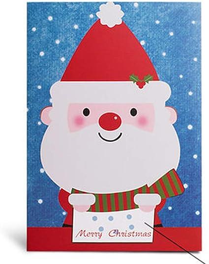 Carte cadeau, Noël, Fantaisie DIY enregistrable musical Cartes de