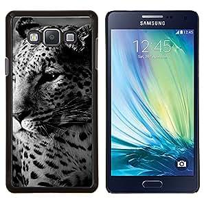 TECHCASE---Cubierta de la caja de protección para la piel dura ** Samsung Galaxy A7 ( A7000 ) ** --Leopardo lindo Spots peludo animal bestia