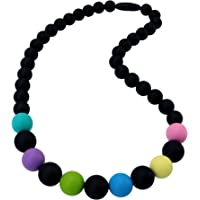 Sensory Chew Necklace for Boys and Girls, Silicone Chewy Fidget Stim Toy Jewelry for Kids with Autism ADHD SPD, Oral…