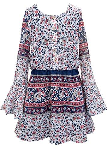18c45480a Truly Me Big Girls Tween Long Sleeve Dresses