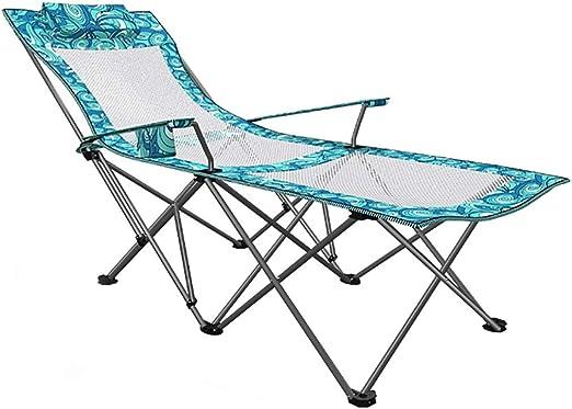 Lw yychair Silla Mecedora, Silla de Playa Plegable Silla Sun ...