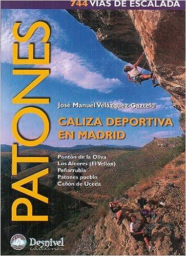 Patones, caliza deportiva en Madrid - 744 vias de escalada ...