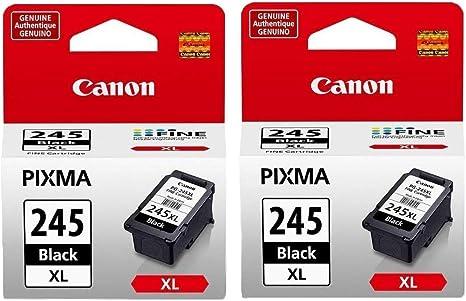 Amazon.com: 2 cartuchos de tinta negra Canon PG-245XL ...