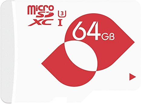 MENGMI 64GB Micro SD Card Class 10 U1 microSDXC with SD Adapter max Speed 80MB//s for Dash Cam//GoPro//Tablet//Phone 64GB U1