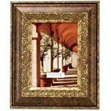 Lawrence Frames Carved Antique Bronze 4x6 Picture Frame Ornate Design
