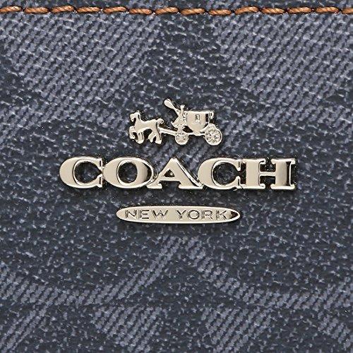 0939e7408de0 Amazon   [コーチ] 長財布 アウトレット COACH F57665 SV/DE ネイビー [並行輸入品]   COACH(コーチ)   財布
