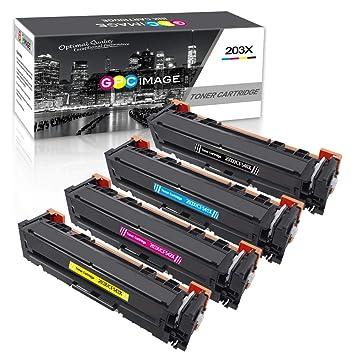 GPC Image Cartuchos de tóner Compatible para HP 203X 203A CF540X ...