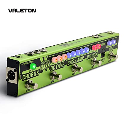 Valeton Dapper Bass Multi-Effects with Bass AMP Octave: Amazon in