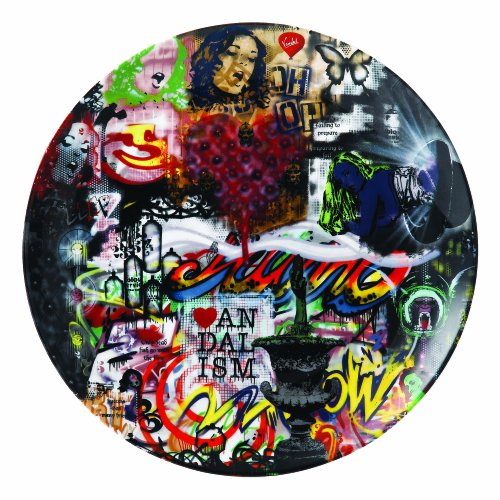 Royal Doulton Nick Walker Plate, 10.75-Inch, Collage Limited Edition by ROYAL DOULTON