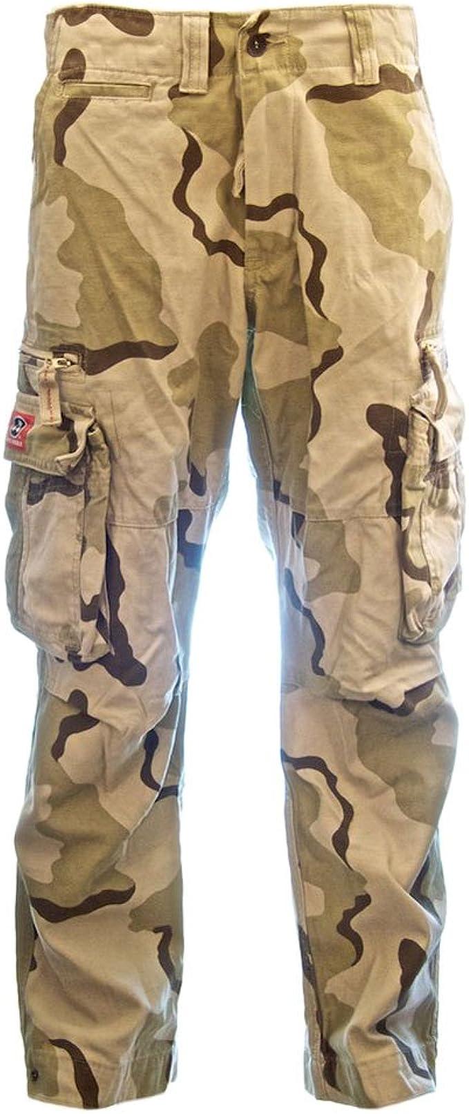 Vanvene pantaloncini da uomo cargo Combat esercito mezzo pantalone da lavoro classico vestibilit/à rilassata pantaloncini in cotone elasticizzato