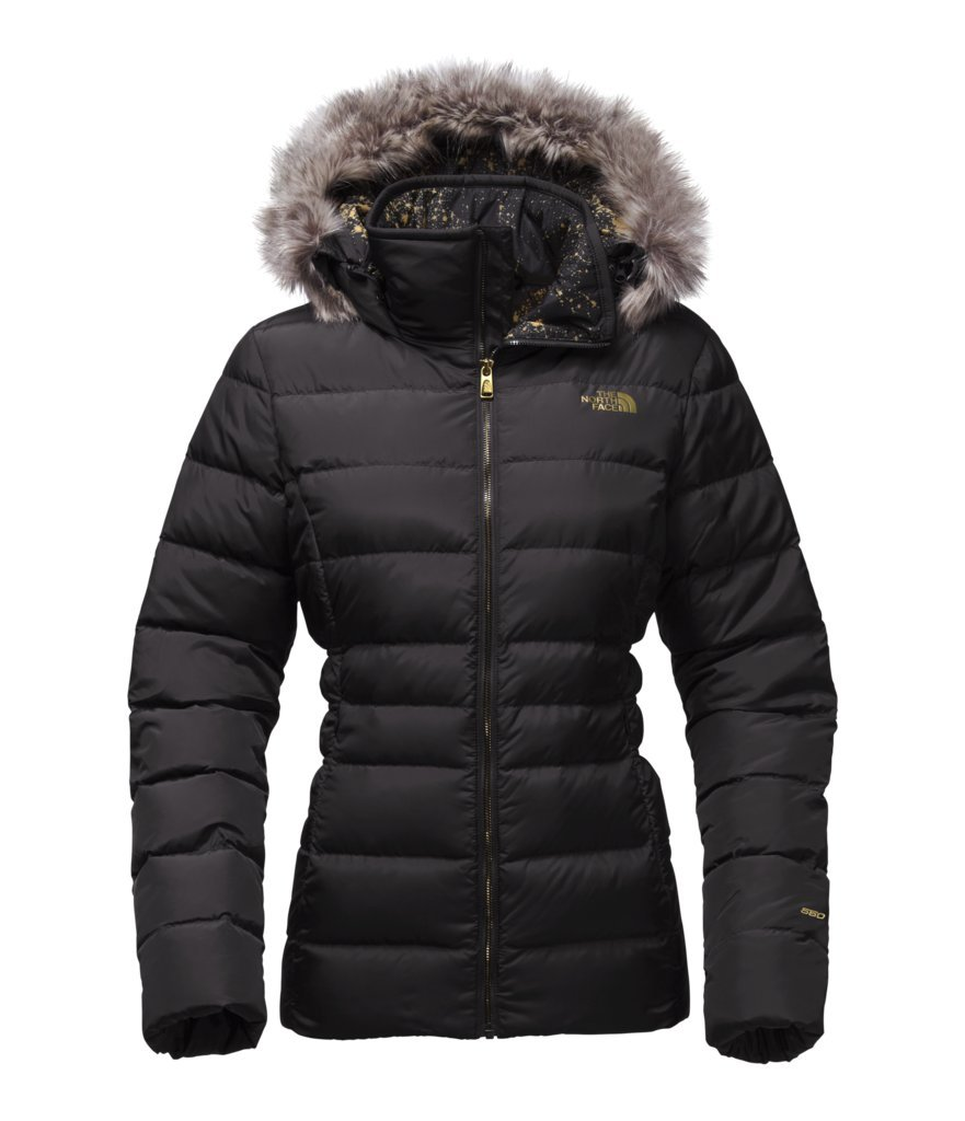 The North Face Women's Gotham Jacket II - TNF Black/TNF Black Brightlights Print - S (Past Season) by The North Face