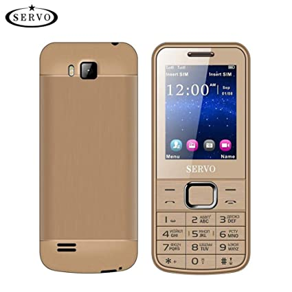 gaeruite SERVO 225 Teléfono Celular 2.4 Pulgadas Tarjetas SIM Dual Spreadtrum6531CA Teléfono, Vibración GPRS Fuera