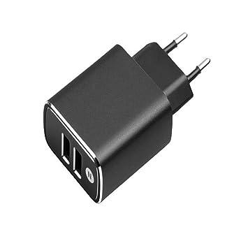 TCL LTC - Cargador USB (2 Puertos USB, 3 A, Aluminio), Color ...