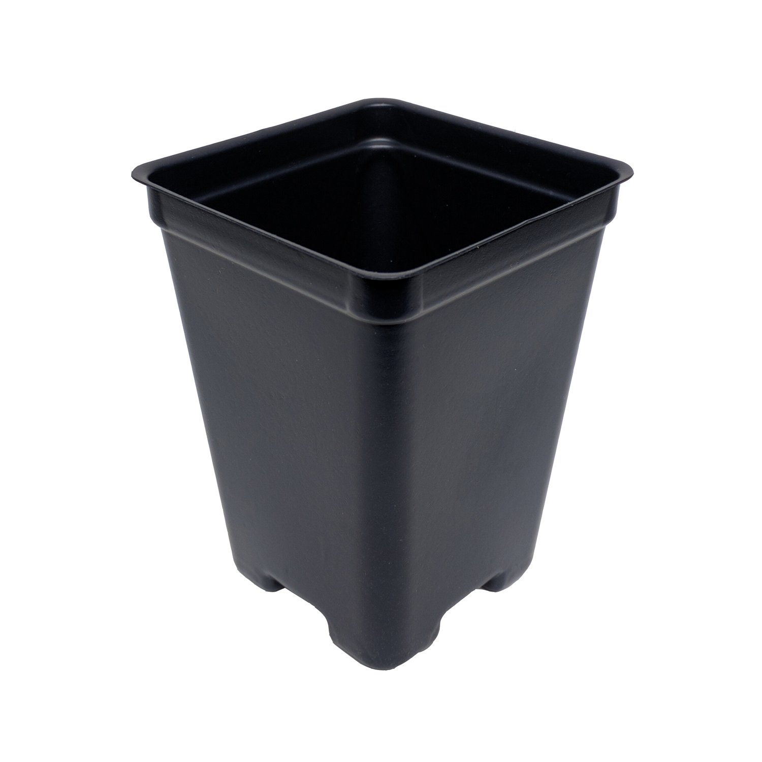 2.65 Inch Square Deep Pots - New Design - Made in the USA for Organic Gardening, Greenhouse, Nursery, Tomatoes - Recyclable (Black, 800 or 1 Case)
