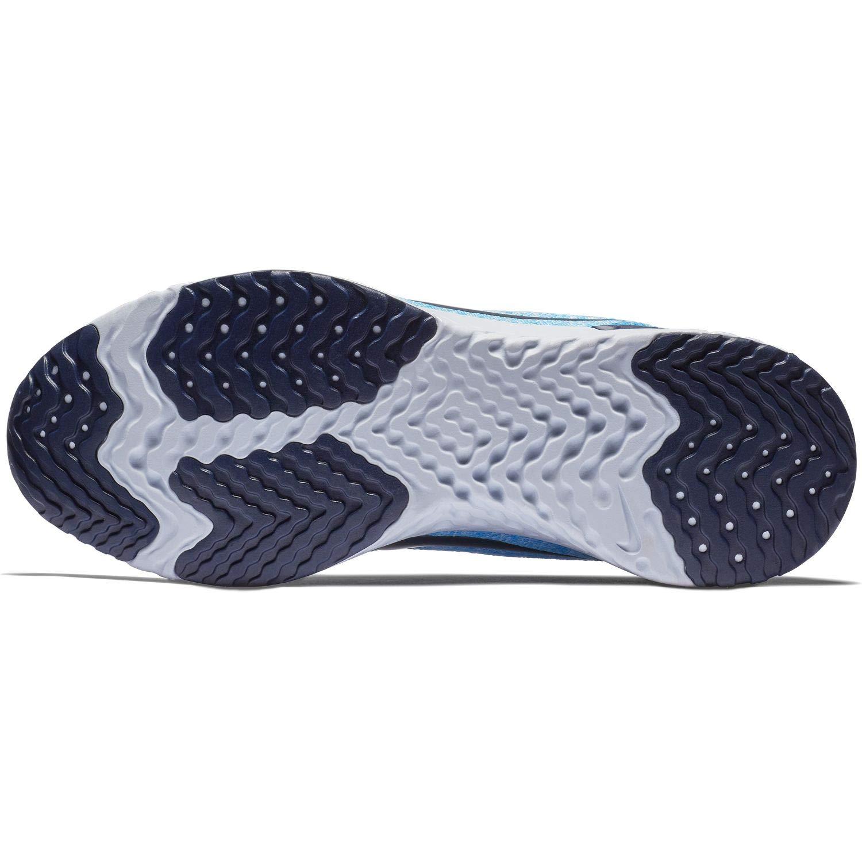 Nike Damen WMNS Odyssey React Laufschuhe Mehrfarbig (Football Grey/Blue Void/Blue Hero 006)