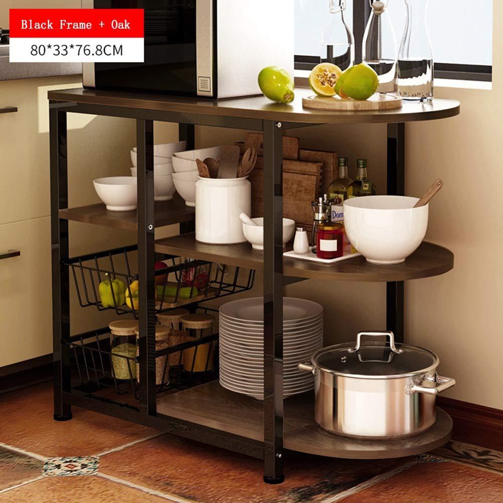 Estante de almacenamiento de cocina de 3 niveles Soporte ...