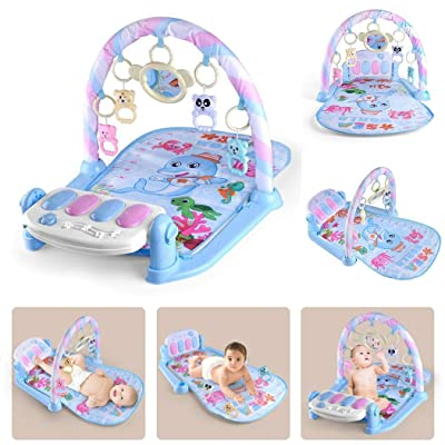 Weardear Infant Baby Music Game Early Education Puzzle Lighting Fitness Toys Baby Gyms & Playmats: Home & Kitchen