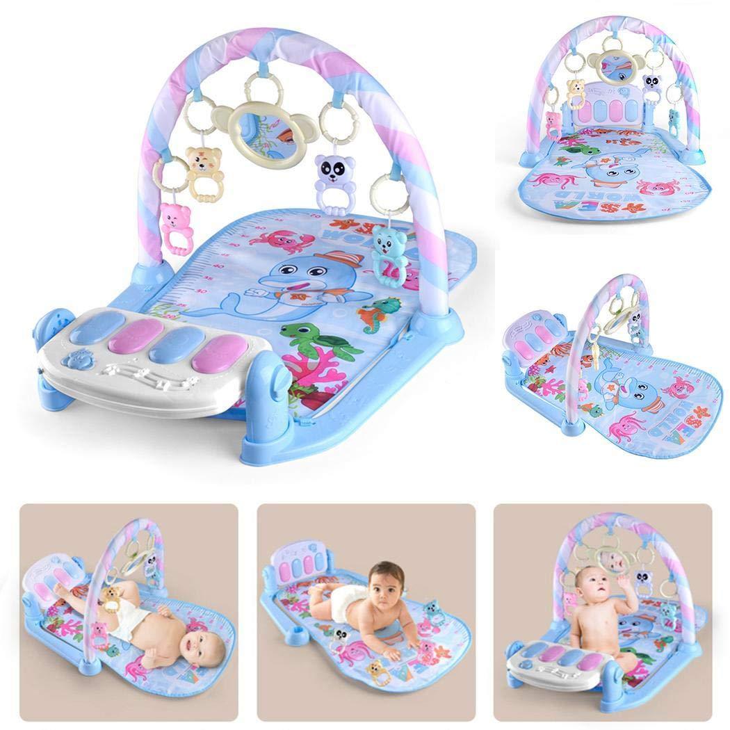 Music dinoek Baby Play Piano Palestra Fitness Luce//New-Born Baby Play Mat