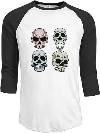 Camiseta de béisbol para hombre, manga 3/4, historia horrible ...