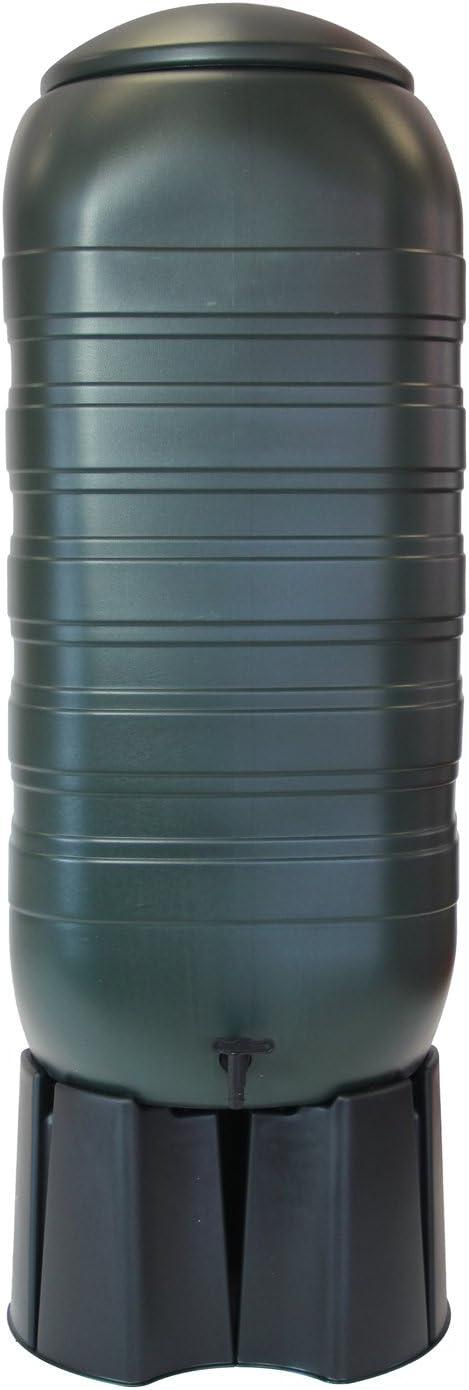 Water Butt Ondis24 Regenwasserbeh/älter Gie/ßwasserbeh/älter Regentonne Regentank mit 250 Liter f/ür Balkon Terrasse und Garten mit St/änder