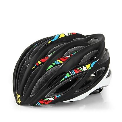 XY&CF Mountain Road Cycling Helmets Cascos de bicicleta Unisex ajustable Bicicleta ligera Cascos Bicicleta de montaña