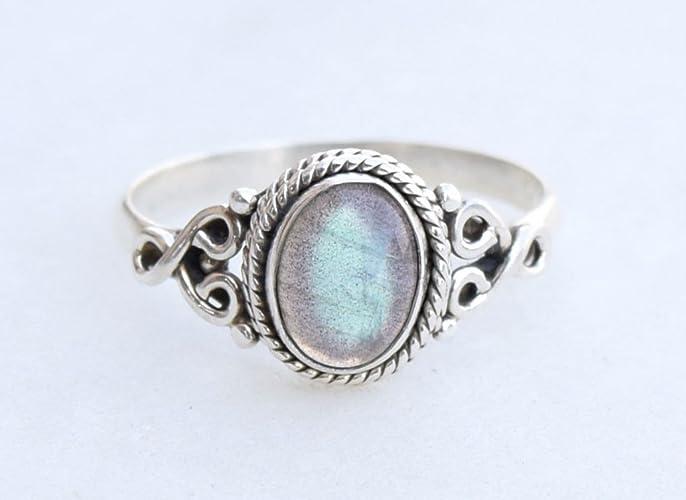 Fashion Jewelry Bracelets Outstanding Design Labradorite Gemstone 925 Silver Jewelry Bracelet 7-8