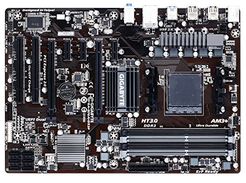 0 SATA 6Gbps USB 3.0 ATX AM3+ Socket DDR3 1600 Motherboards (GA-970A-DS3P) ()