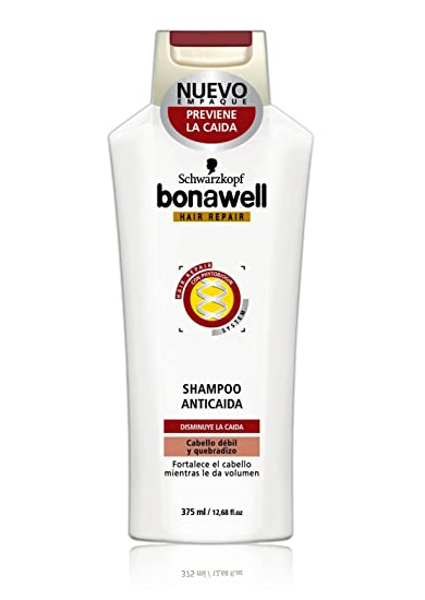 Schwarzkopf Bonawell Hair Repair & Loss Control Shampoo 375ml
